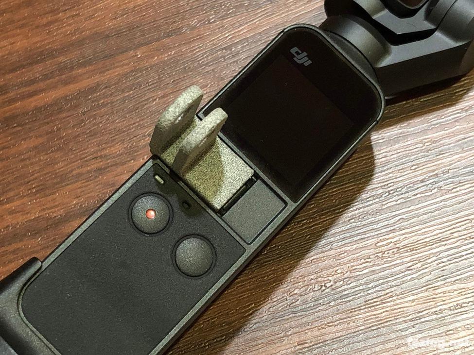 Functional Designs Osmo Pocket用アクセサリーマウントを装着