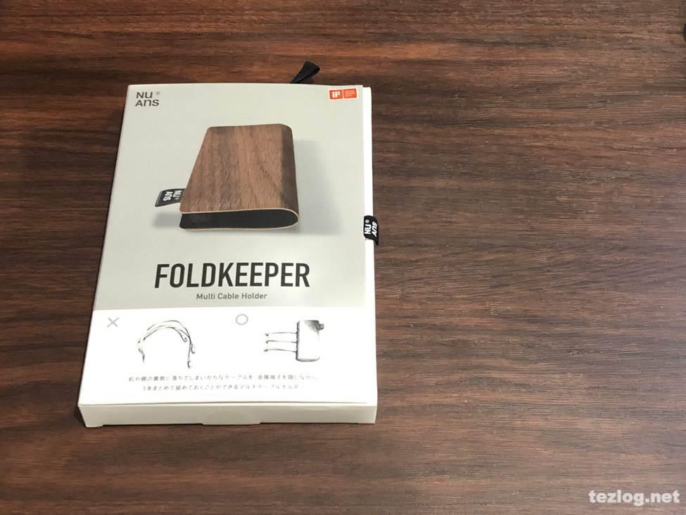 NuAns FOLDKEEPER マルチケーブルホルダー パッケージ