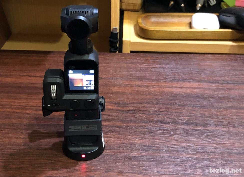 STARTRC Osmo Pocket用アクセサリーマウントとワイヤレスモジュール・コントローラーホイールを同時に使う