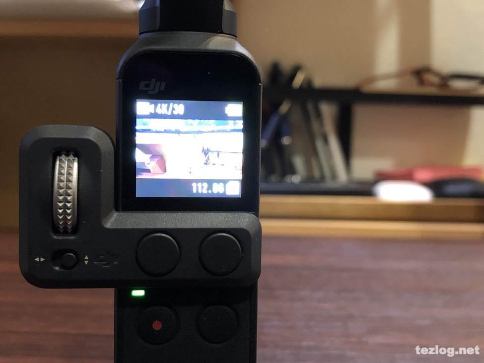 OsmoPocket コントローラーホイールを使用して撮影