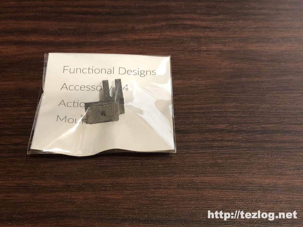 Functional Designs DJI Osmo Pocket用 アクションカム アクセサリー マウント FD-OPACM04