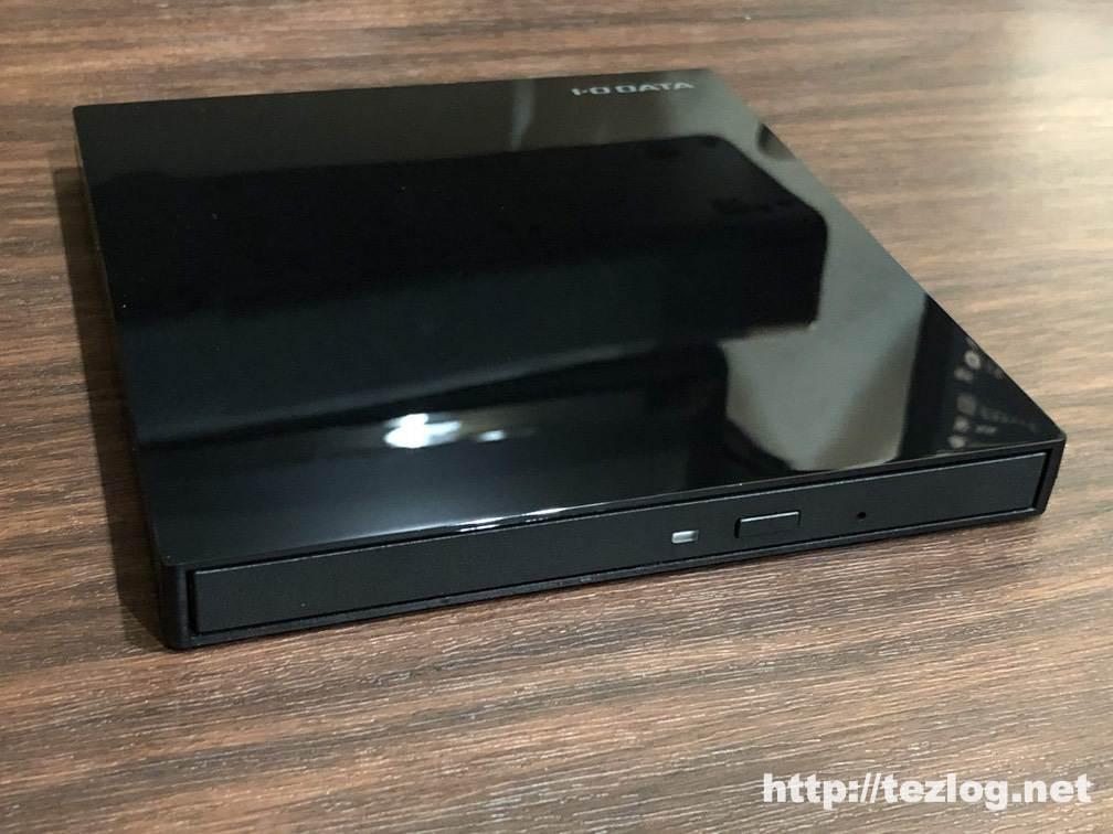 IO-DATA USB-C対応のポータブルブルーレイドライブ BRP-UT6CK