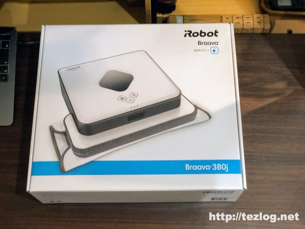 床拭きロボット ブラーバ380j パッケージ