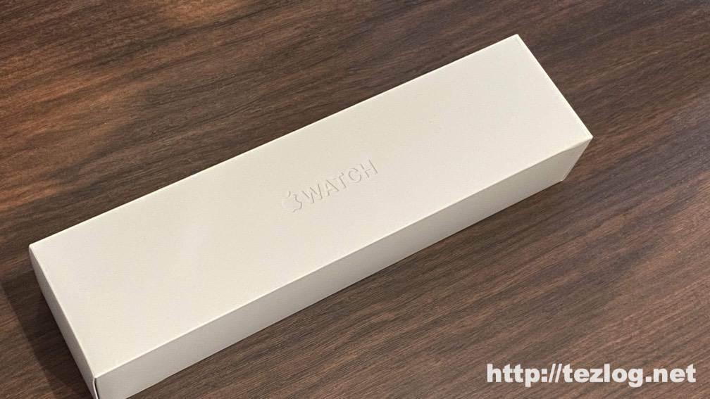 Apple Watch Series 5パッケージ