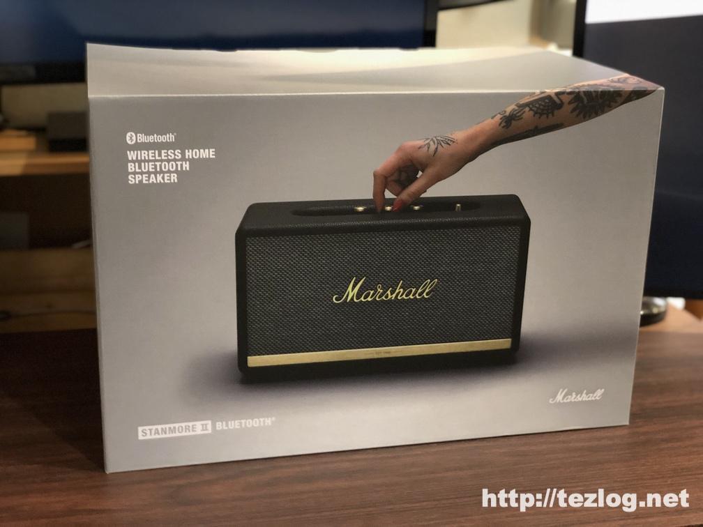 Marshall スピーカー STANMORE Ⅱ BLUETOOTH パッケージ