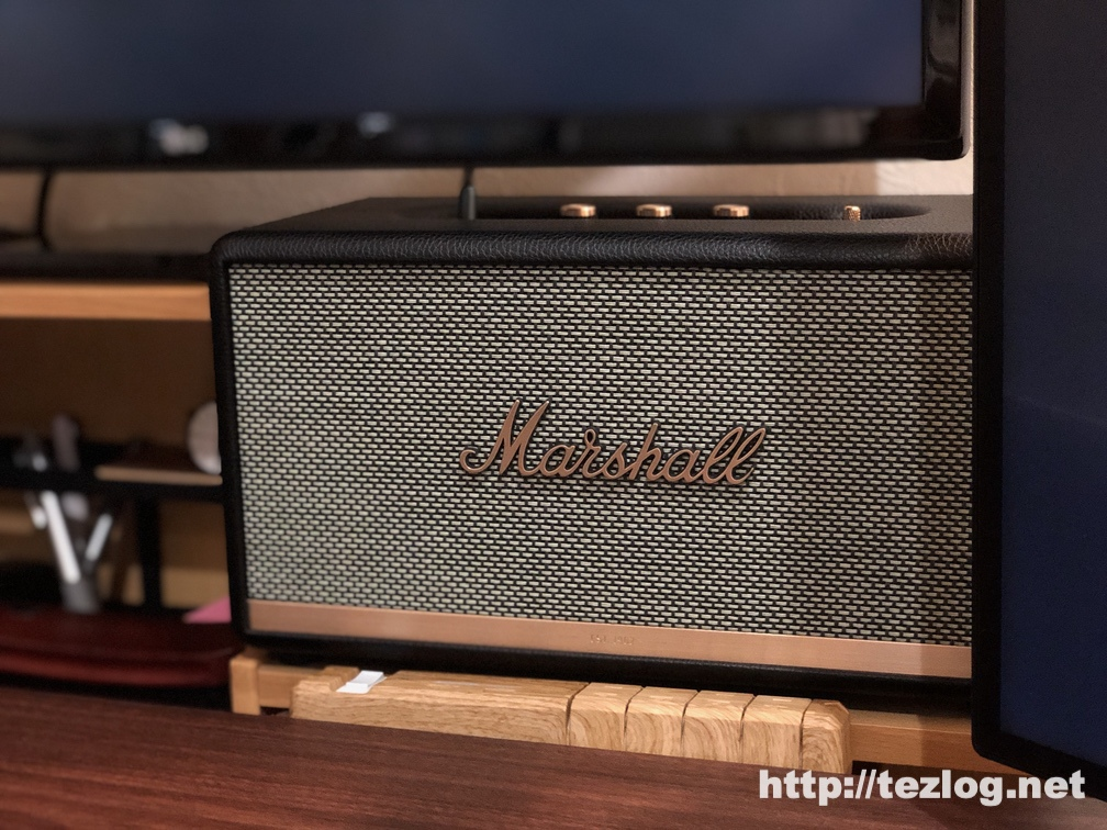 Marshall スピーカー STANMORE Ⅱ BLUETOOTH 使用風景