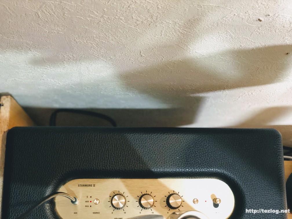 Marshall スピーカー STANMORE Ⅱ BLUETOOTH 設置する時の注意
