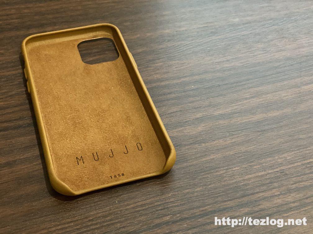 Mujjo Full Leather ウォレットケースMujjo Full Leather ウォレットケース 内側は日本製マイクロファイバー加工がされた本革