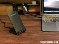 Seneo 急速ワイヤレス充電セット QC3.0アダプター付き Qi認証済み PA135A