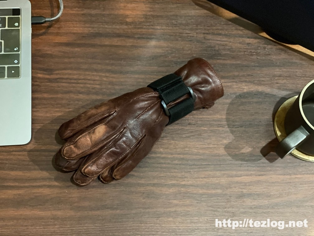 T&B 固定ベルトマジックテープ式で手袋をまとめる 2