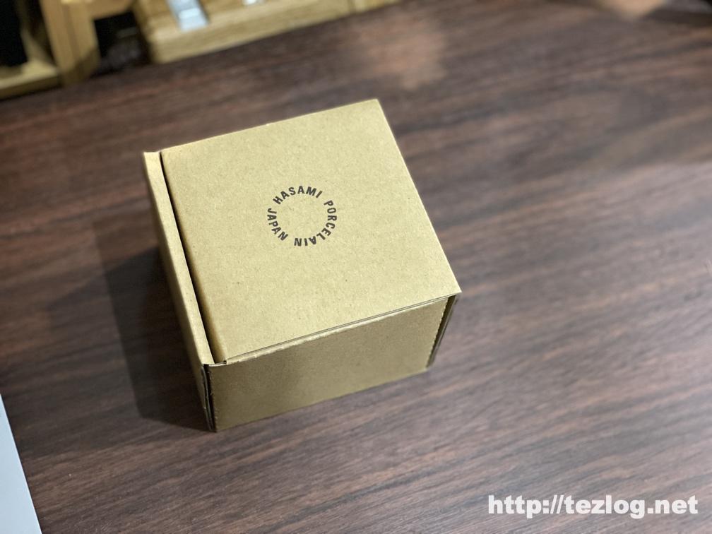 HASAMI PORCELAIN ハサミポーセリン マグカップ パッケージ