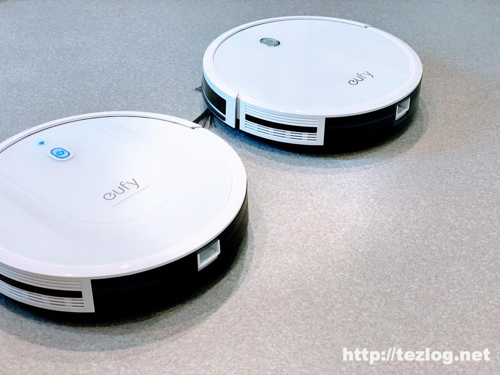 Eufy RoboVac G10 Hybrid と11Sの比較