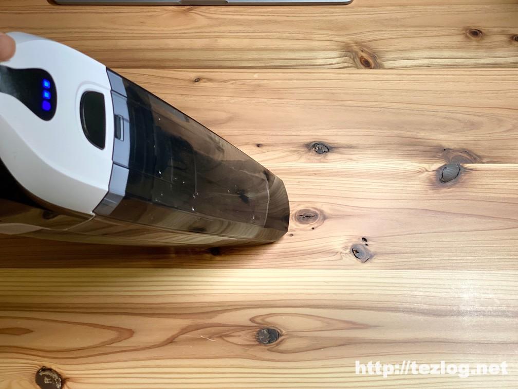 APOSEN 乾湿両用 コードレス掃除機 A7s で液体を吸引