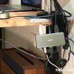 Anker 7in1 プレミアム USB-Cハブ 使用風景