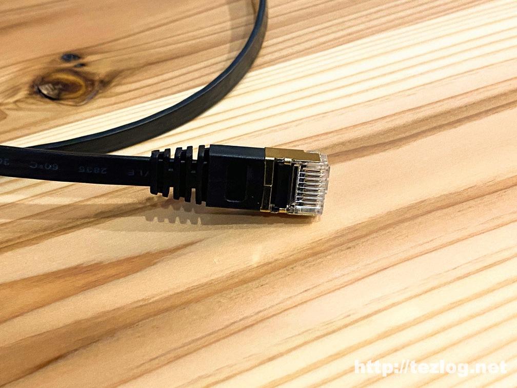 サンワサプライ LANケーブル CAT7 KB-FLU7 端子