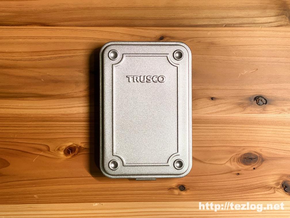 TRUSCO トランク型工具箱 シルバー T-15SV