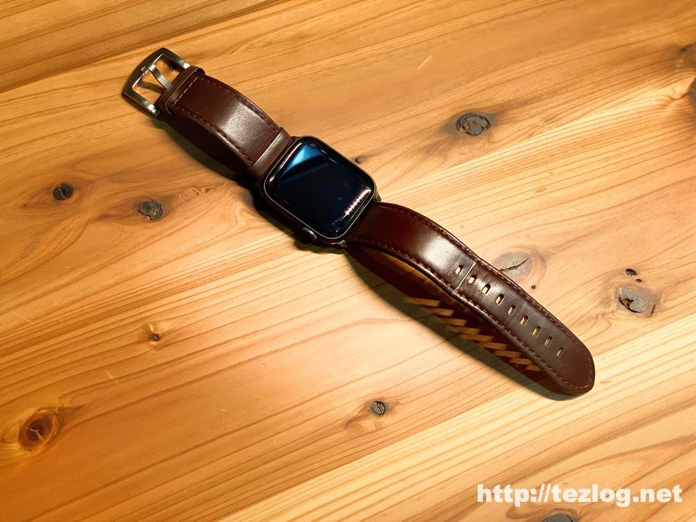9ヶ月使用したFRESHCLOUD Apple Watch用本革バンド