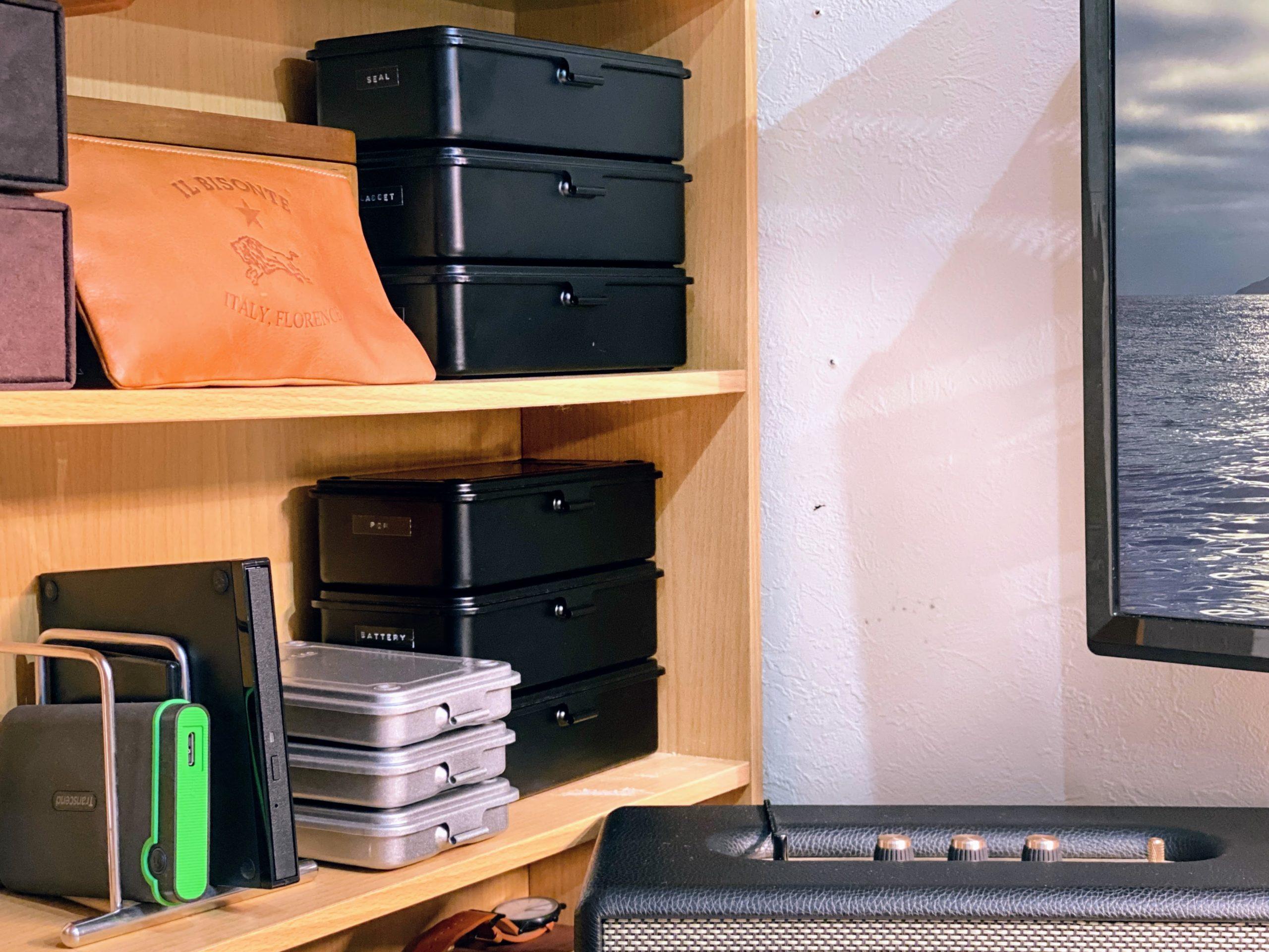 ダイモで作成したラベルテープの使用例 TRUSCOの工具箱を整理2