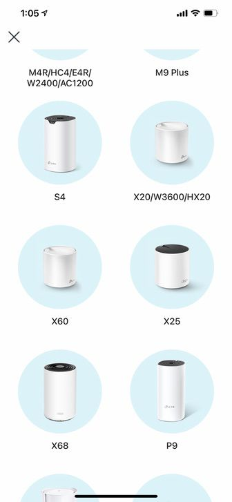 TP-Link Deco X60 をiPhoneアプリ 「Deco」で設定 1
