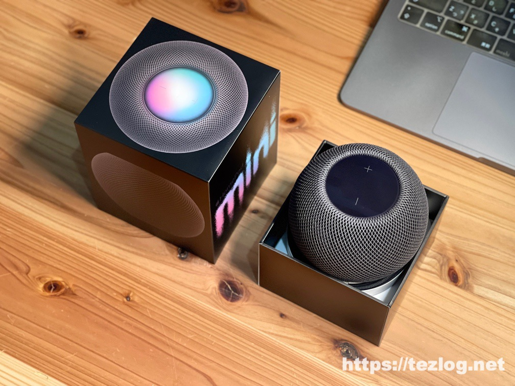 HomePod mini 開封