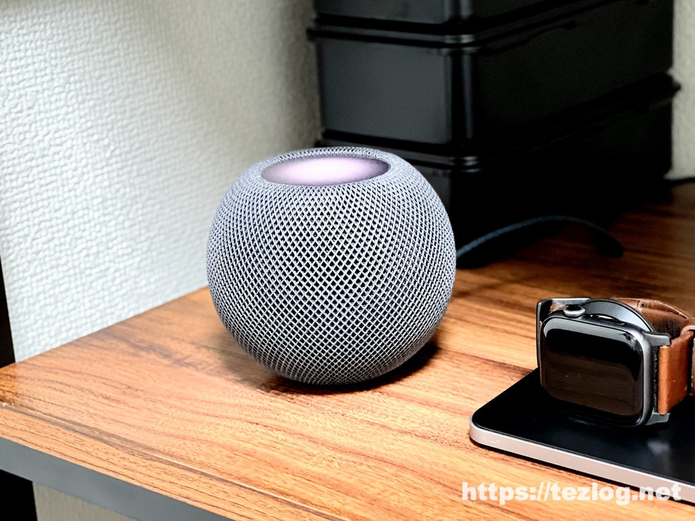 HomePod mini 使用風景