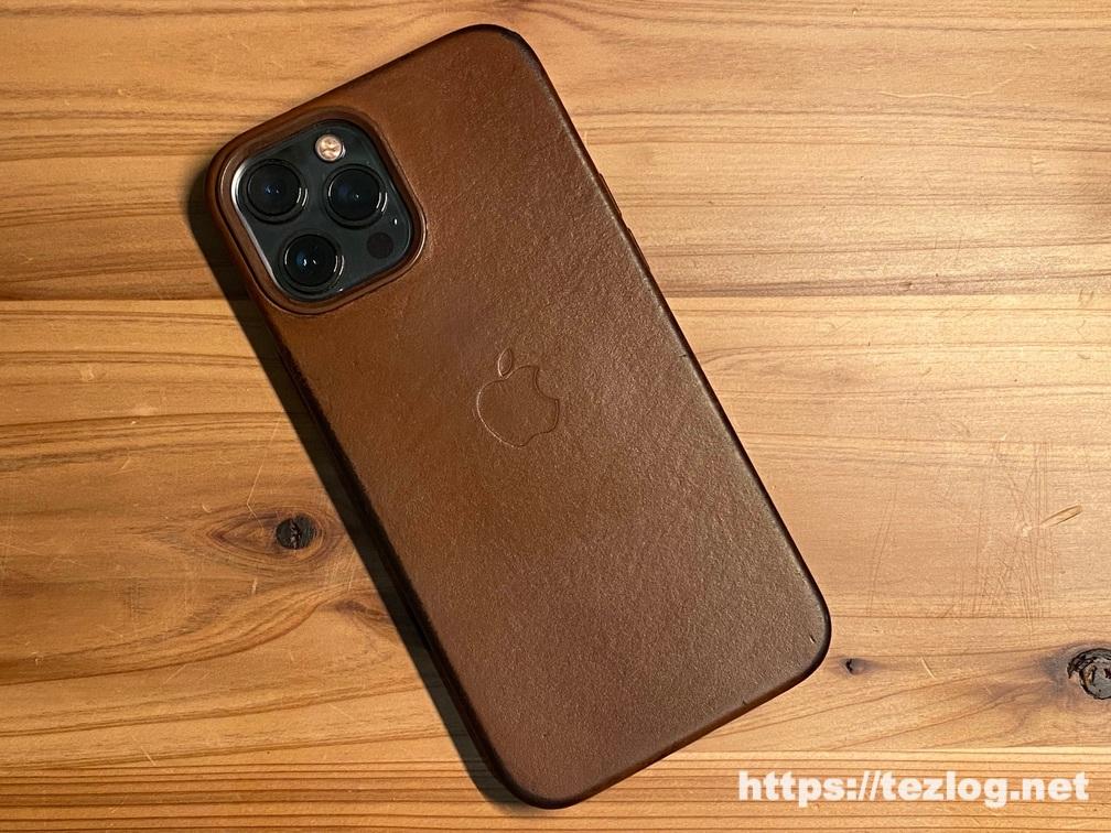6ヶ月使用したApple純正 iPhone 12 Pro Max レザーケースの経年変化