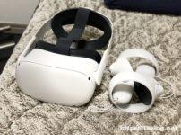 Eliteストラップを付けたOculus Quest 2