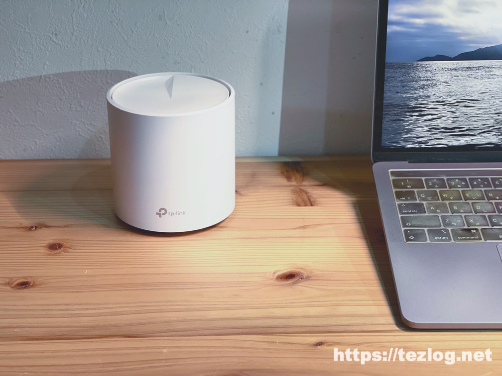 TP-Link Deco X60 メッシュWi-Fiルーター 使用風景