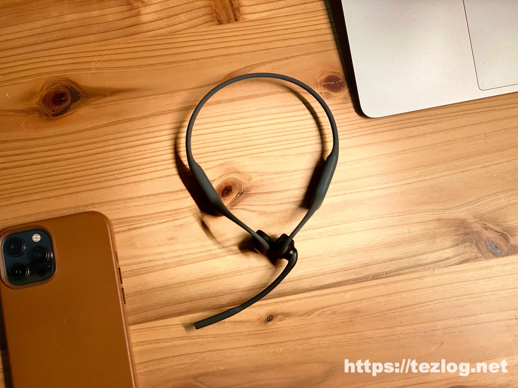 AfterShokz OpenCommをiPhoneとMacにマルチポイントペアリング