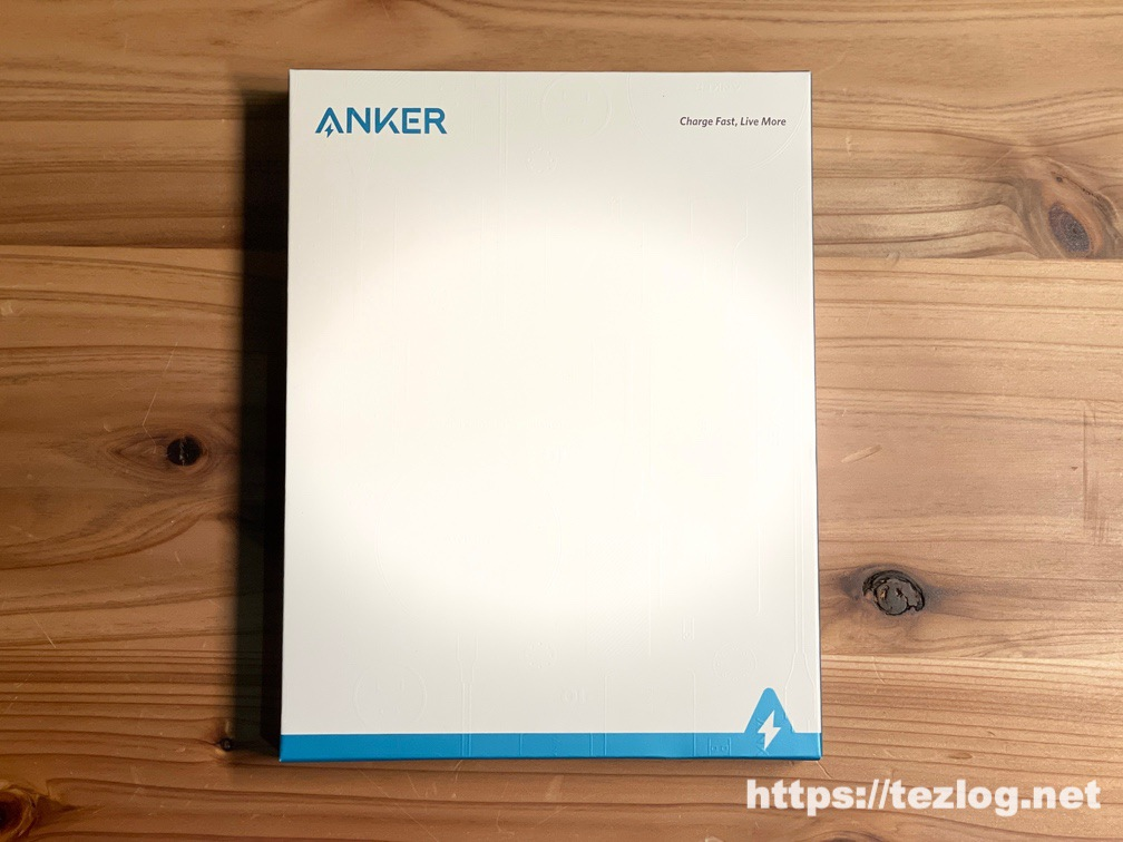 Anker PowerCore III 10000 Wireless パッケージ