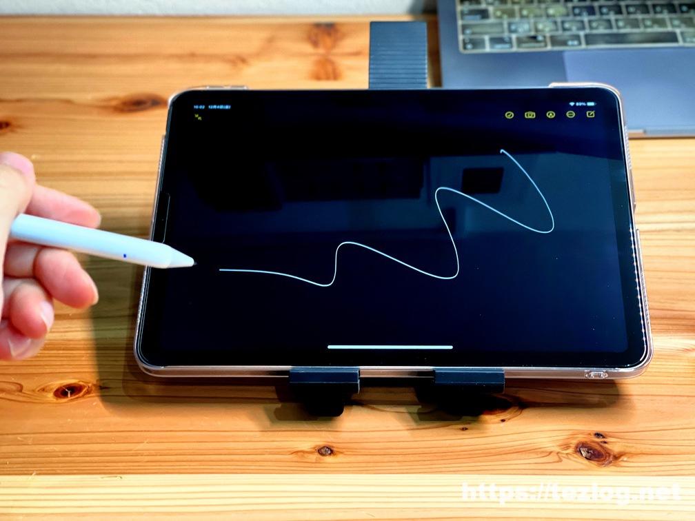 USGMoBi iPad タッチペンの書き心地をiPad Air 4でテスト