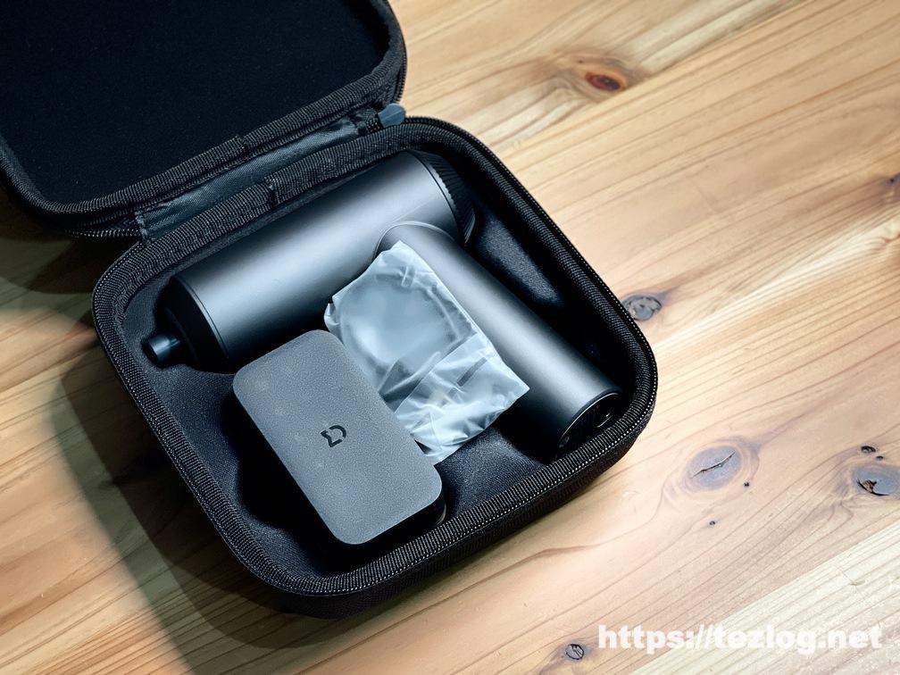 Xiaomi Mijia ポータブル充電式電動ドライバー 収納ポーチの中身