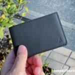 キャッシュレス時代の薄くて小さな革財布 TAVARAT Receca