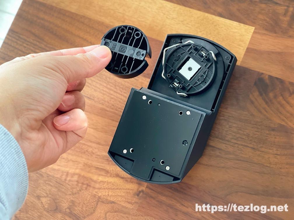 スマートロック SADIOT LOCK サムターンホルダーを取り付け