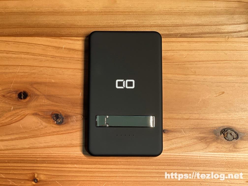 CIO MagSafe対応モバイルバッテリー CIO-MB5000-MAG-BK