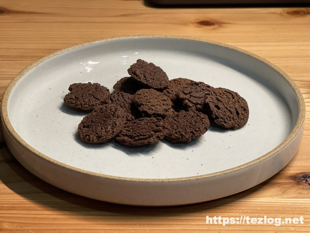 BASE Cookies ベースクッキー ココア 一袋の中身