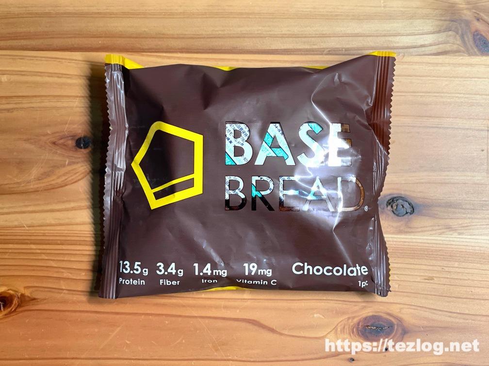 BASE BREAD ベースブレッド チョコレート パッケージ表