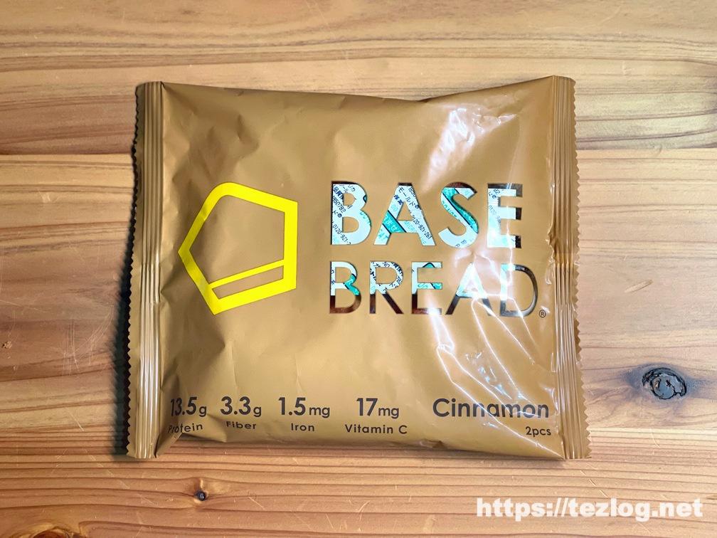 BASE BREAD ベースブレッド シナモン パッケージ表