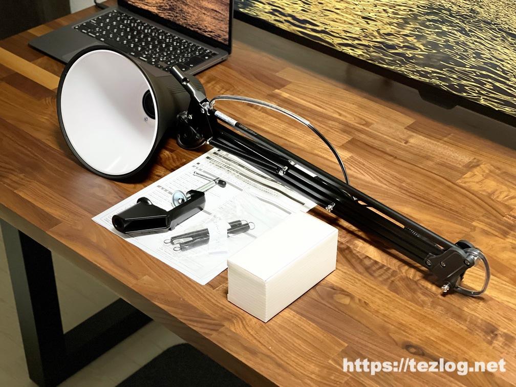 山田照明 LEDデスクスタンド Z-Light Z-108N 付属品一式