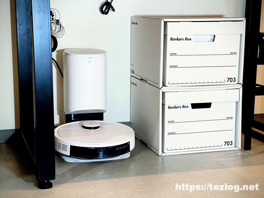 ECOVACS ロボット掃除機 DEEBOT N8 PRO+ 使用風景