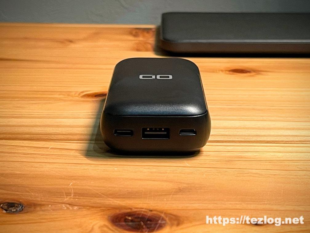 CIO モバイルバッテリー CIO-MB20W-10000-BK 充電端子