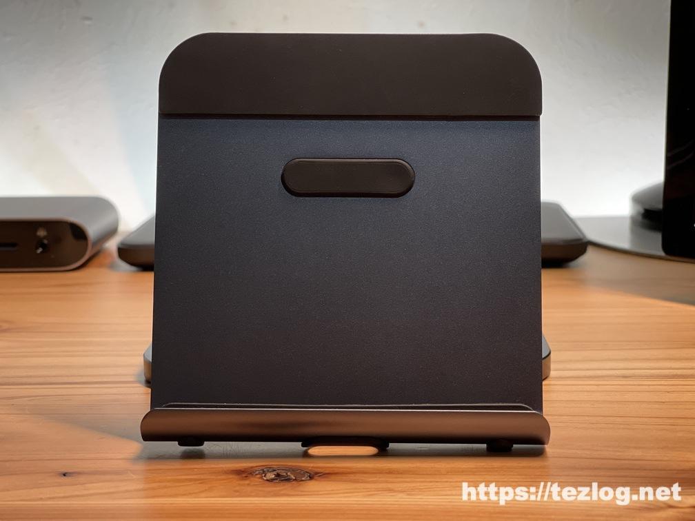 Satechi アルミニウム デスクトップスタンド iPad等を置くマウント部分に若干の傾きがある問題